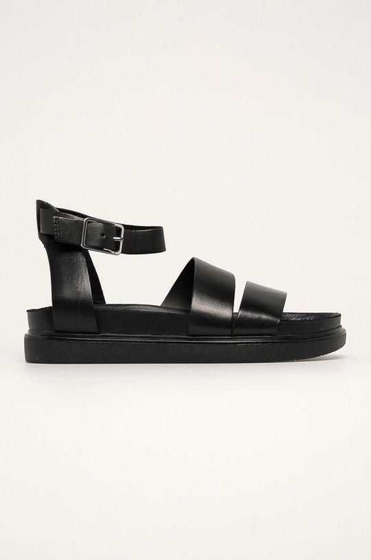 černá Vagabond - Kožené sandály Erin Dámský
