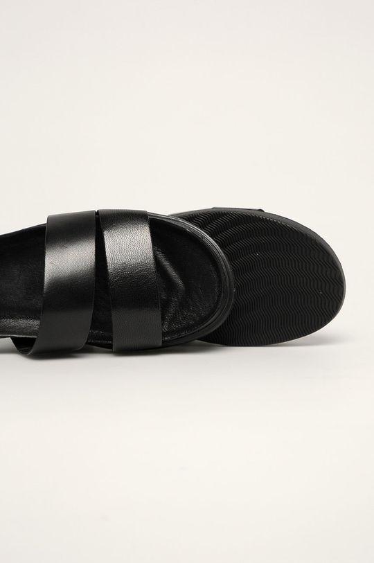 černá Vagabond - Kožené sandály Erin