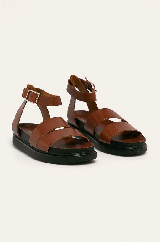 Vagabond - Sandale de piele Erin maro