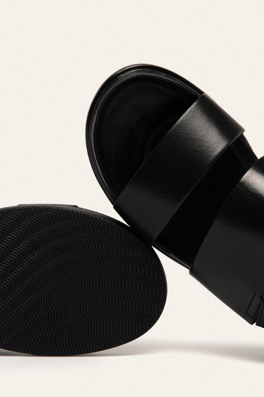 čierna Vagabond - Kožené sandále Erin