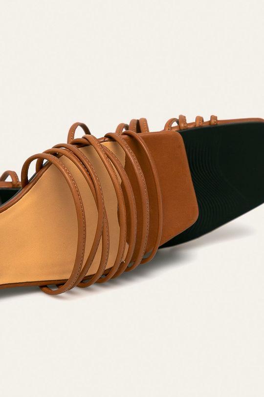 hnědá Vagabond - Kožené sandály Anni
