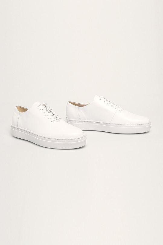 Vagabond - Kožená obuv Camille biela