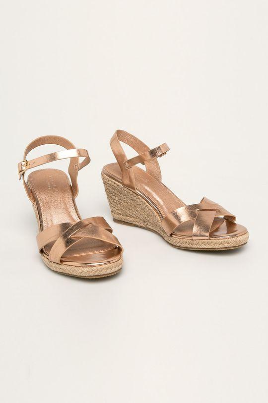 Truffle Collection - Sandály starorůžová