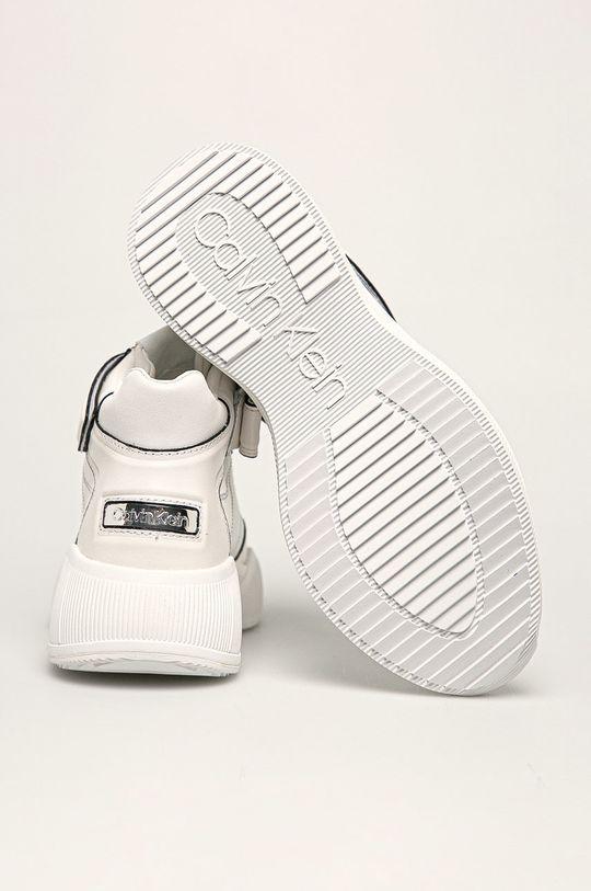 Calvin Klein - Buty skórzane Cholewka: Skóra naturalna, Wnętrze: Materiał syntetyczny, Podeszwa: Materiał syntetyczny