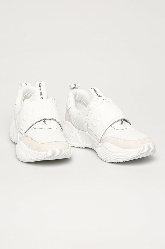 Calvin Klein - Topánky biela