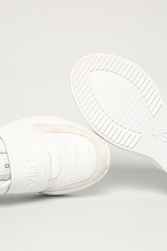 biela Calvin Klein - Topánky