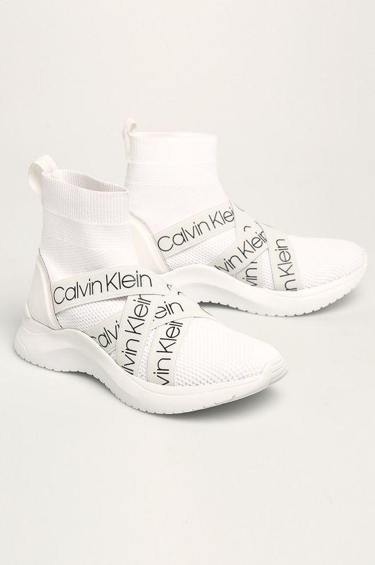 Calvin Klein - Черевики білий
