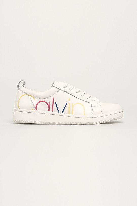 білий Calvin Klein - Шкіряні черевики Жіночий