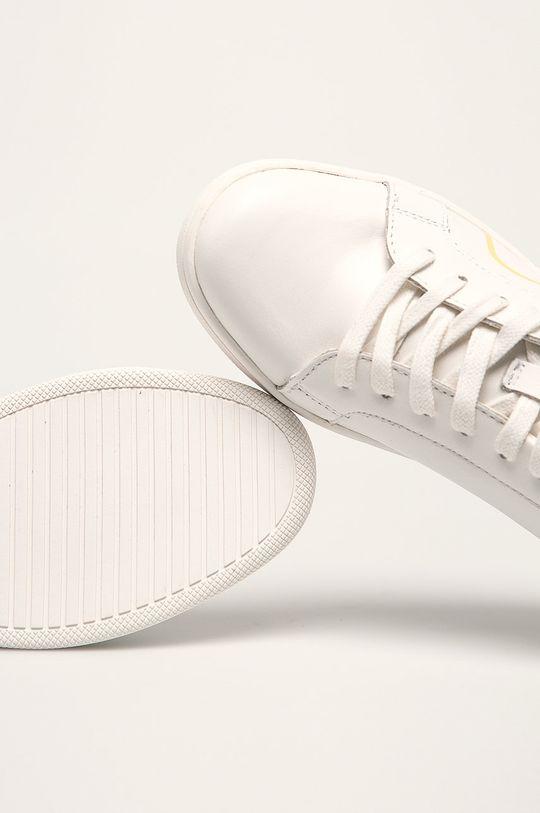 білий Calvin Klein - Шкіряні черевики