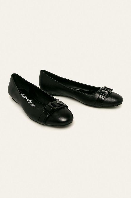 Calvin Klein - Baleríny černá