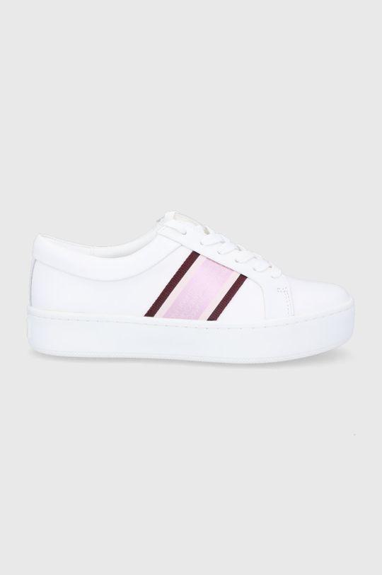 biały Calvin Klein - Buty skórzane Damski