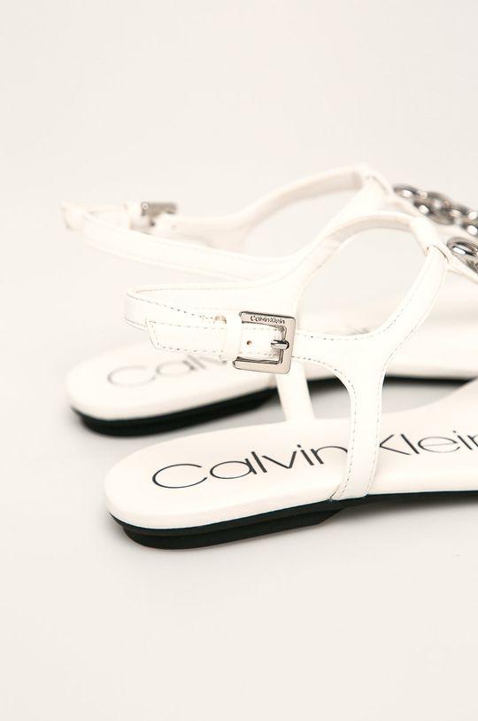 bílá Calvin Klein - Sandály