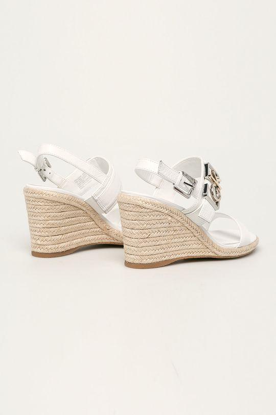 Calvin Klein - Kožené sandály Svršek: Přírodní kůže Vnitřek: Umělá hmota, Přírodní kůže Podrážka: Umělá hmota