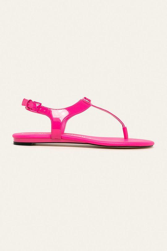 roz ascutit Calvin Klein - Sandale De femei