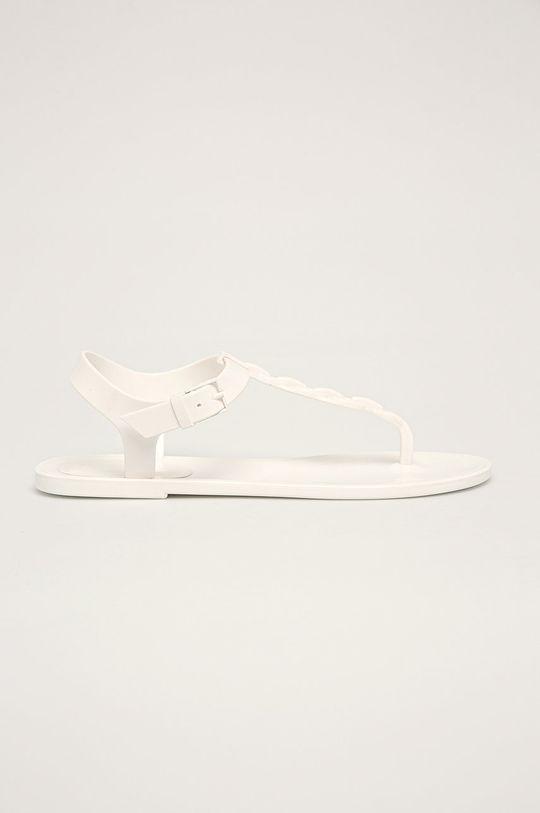 biela Calvin Klein - Sandále Dámsky