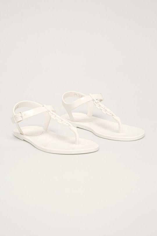 Calvin Klein - Sandále biela
