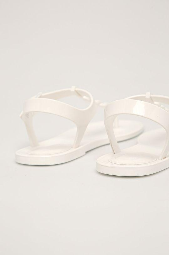 biela Calvin Klein - Sandále