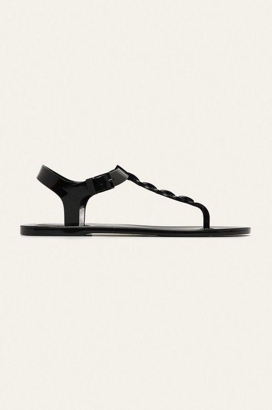čierna Calvin Klein - Sandále Dámsky