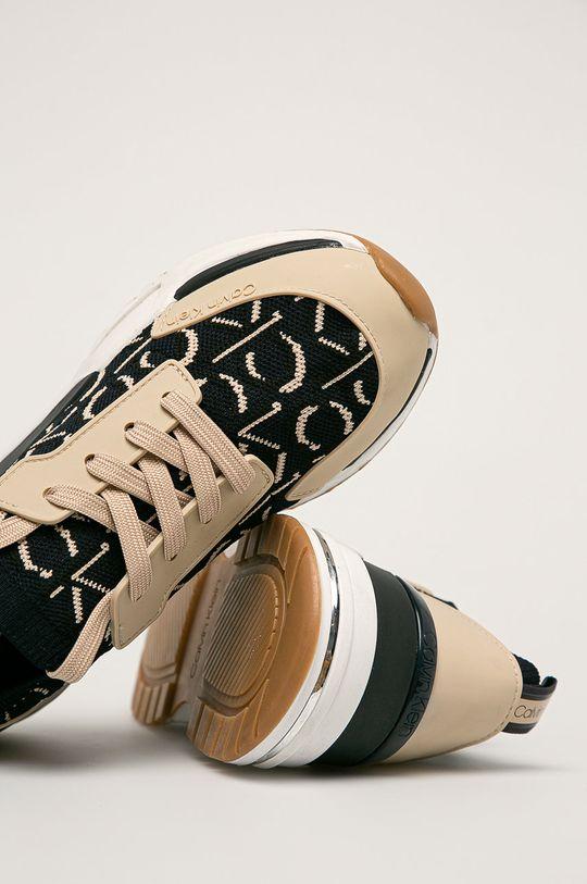 tmavomodrá Calvin Klein - Topánky