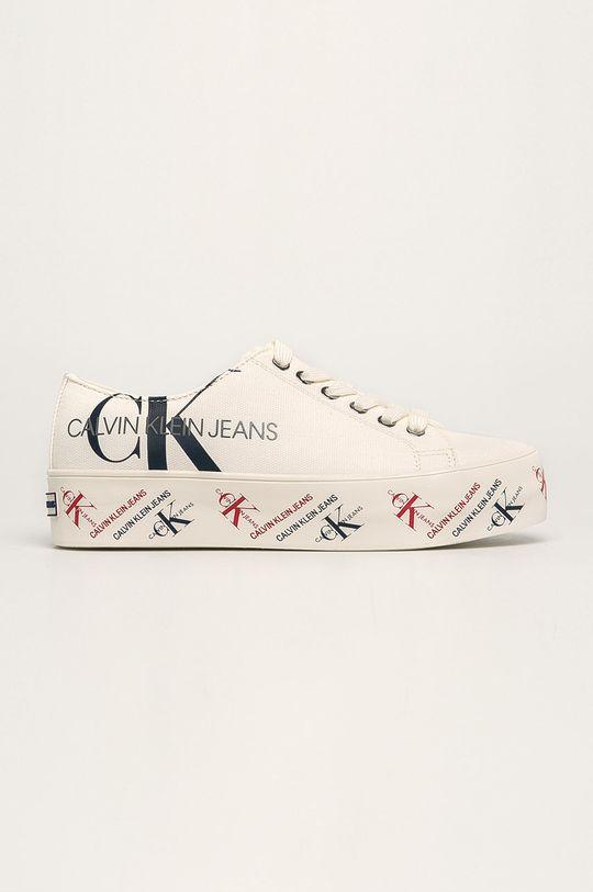 alb Calvin Klein Jeans - Tenisi De femei
