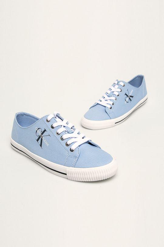 Calvin Klein Jeans - Tenisi albastru deschis