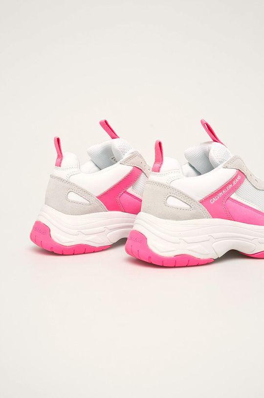 Calvin Klein Jeans - Pantofi Gamba: Material textil, Piele naturala Interiorul: Material textil Talpa: Material sintetic