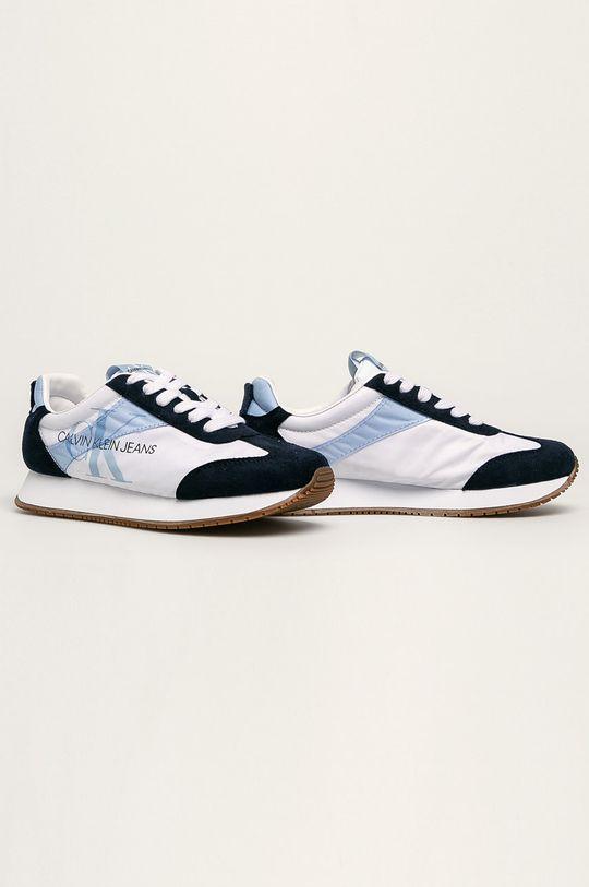 Calvin Klein Jeans - Topánky biela