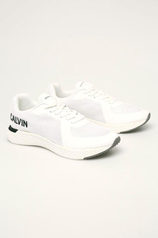 Calvin Klein Jeans - Boty bílá