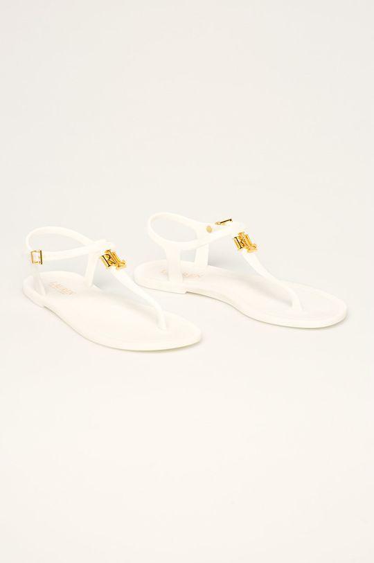 Lauren Ralph Lauren - Sandały biały