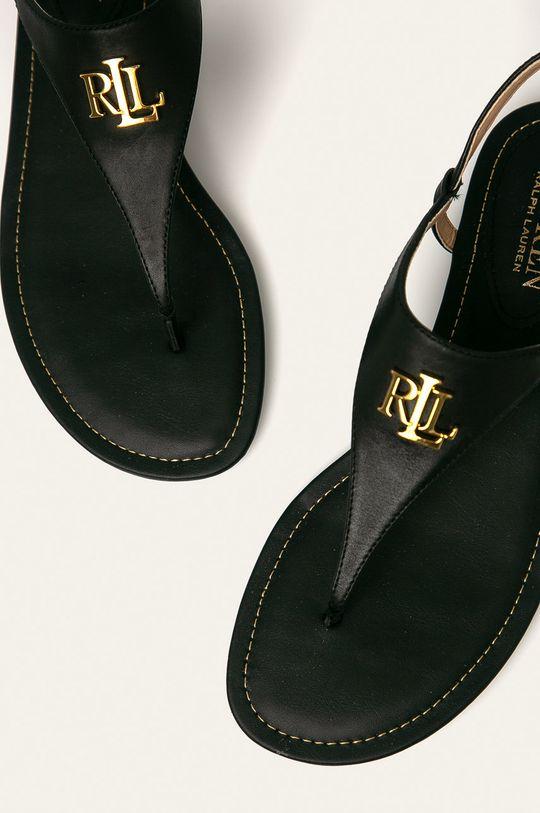 Lauren Ralph Lauren - Kožené sandále  Zvršok: Prírodná koža Vnútro: Syntetická látka Podrážka: Syntetická látka