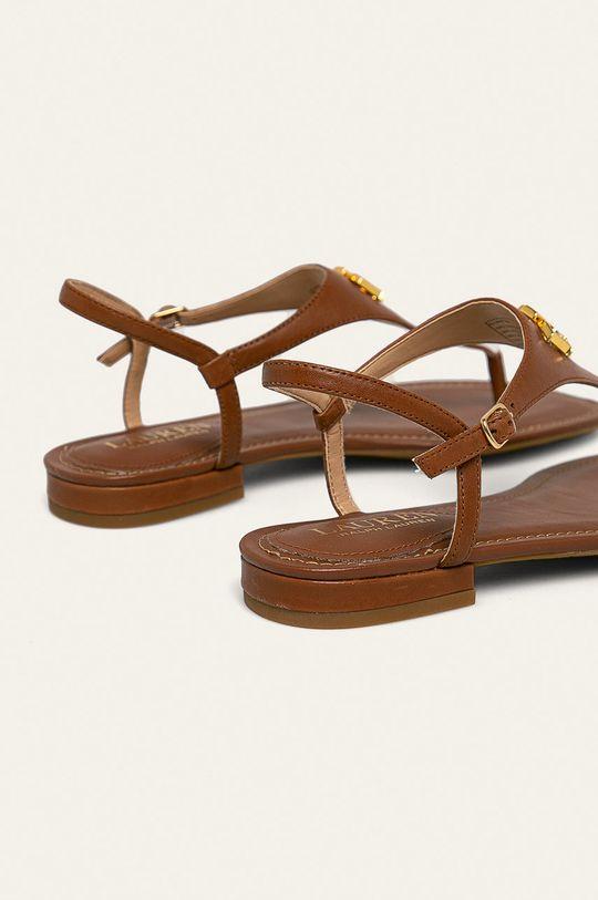 Lauren Ralph Lauren - Kožené sandály Svršek: Přírodní kůže Vnitřek: Umělá hmota Podrážka: Umělá hmota