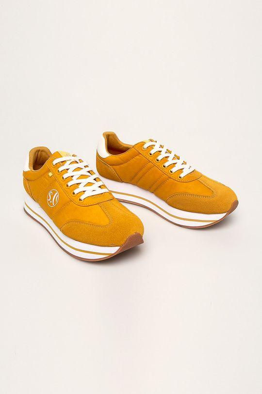 s. Oliver - Topánky žltá