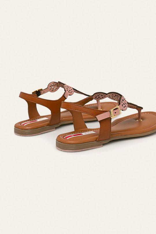 s. Oliver - Kožené sandále  Zvršok: Prírodná koža Vnútro: Prírodná koža Podrážka: Syntetická látka