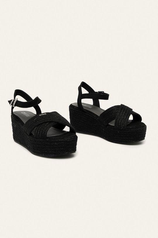 Big Star - Sandále čierna