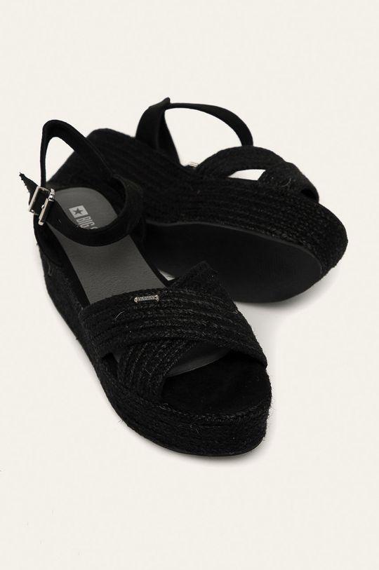 čierna Big Star - Sandále