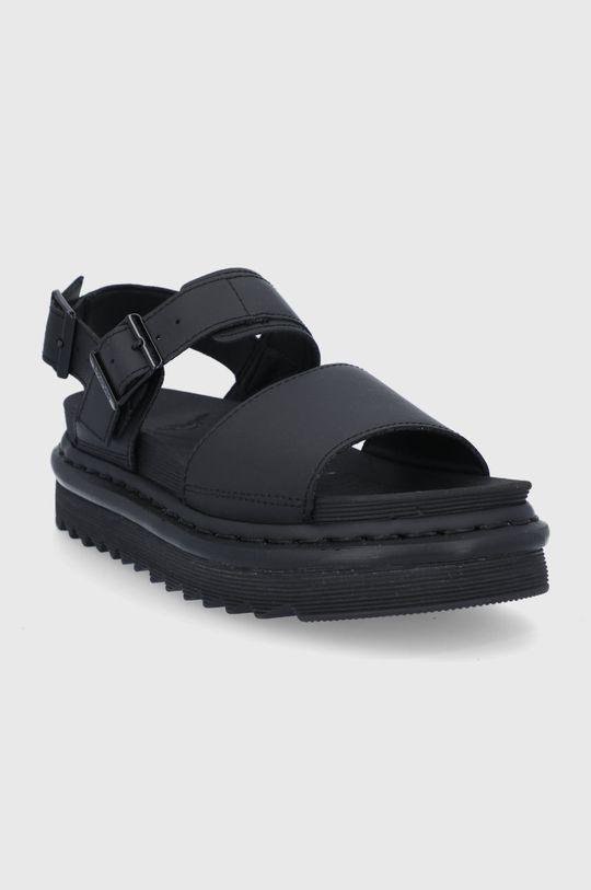 Dr. Martens - Kožené sandále Voss čierna