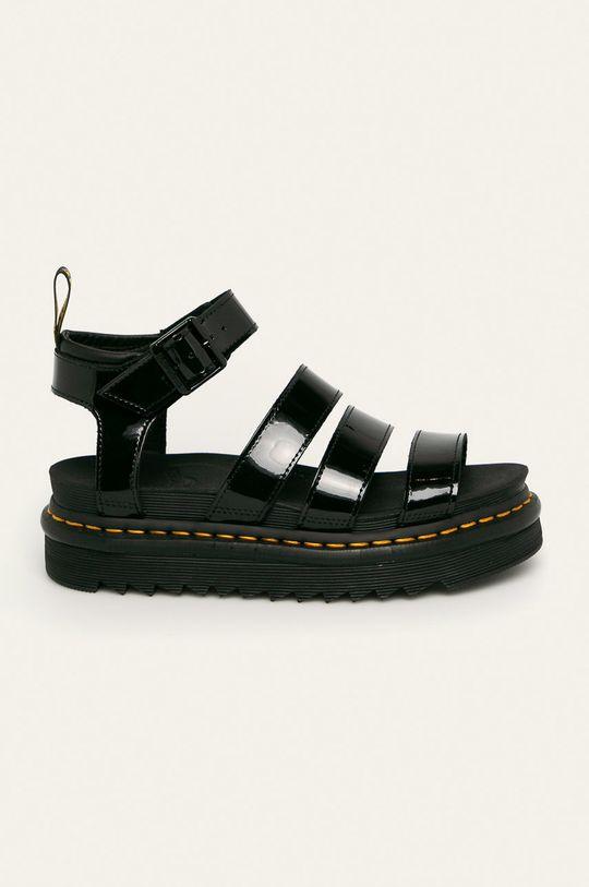 černá Dr. Martens - Kožené sandály Blaire Dámský
