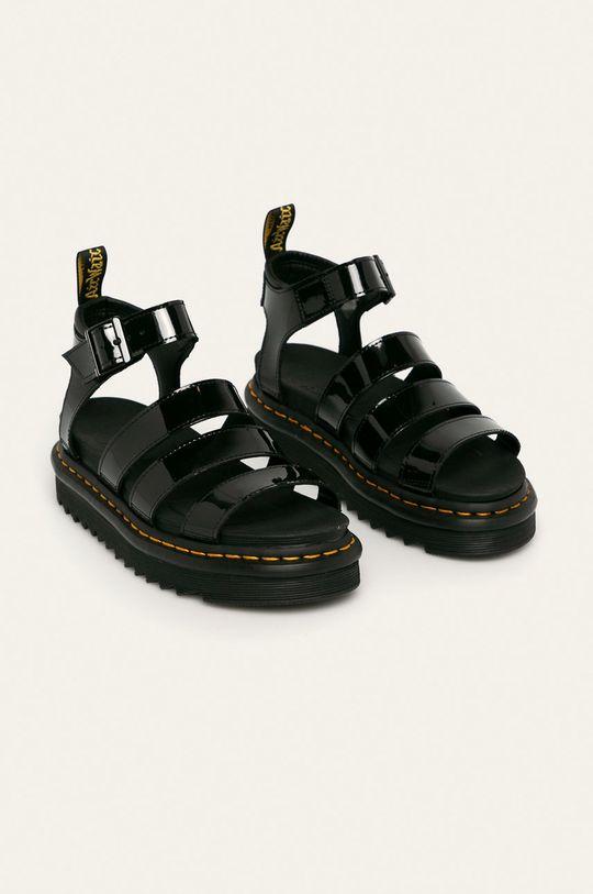 Dr. Martens - Kožené sandály Blaire černá