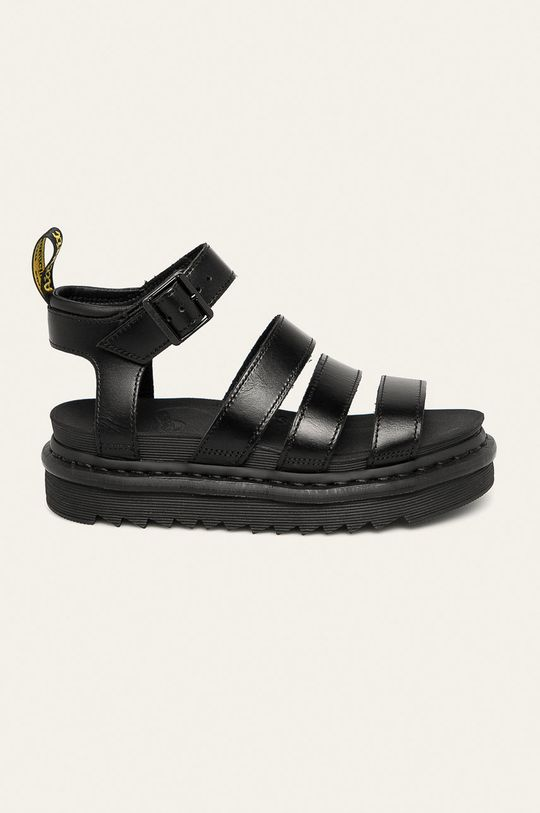 negru Dr. Martens - Sandale de piele Blaire De femei