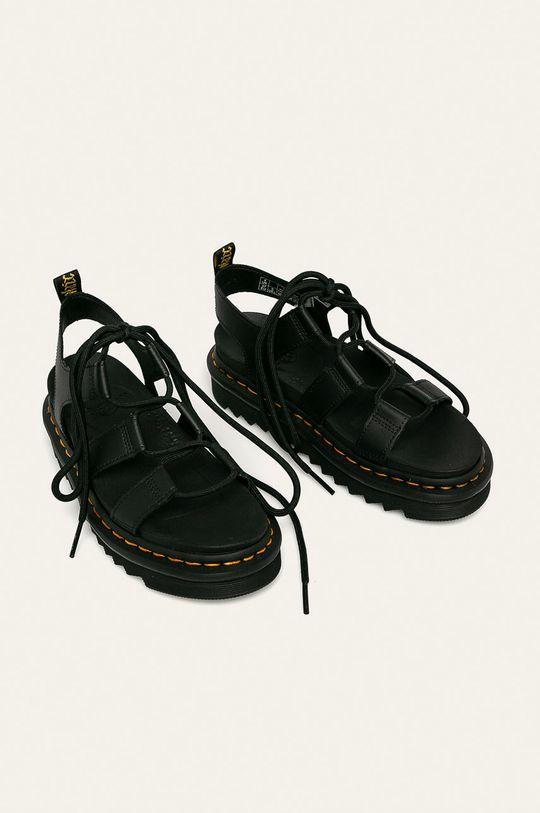 Dr. Martens - Kožené sandále Nartilla čierna