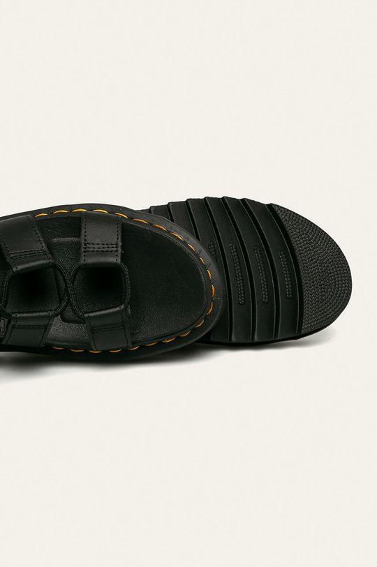 čierna Dr. Martens - Kožené sandále Nartilla
