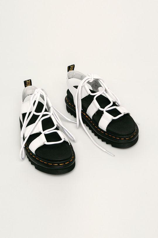 Dr. Martens - Sandale de piele Nartilla alb