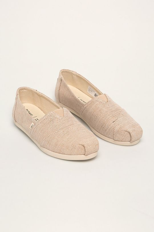 Toms - Espadryle Classic beżowy