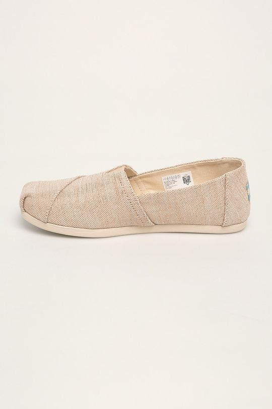 beżowy Toms - Espadryle Classic
