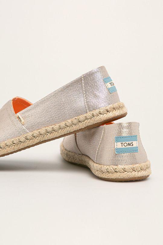 Toms - Espadrilky Classic  Svršek: Textilní materiál Vnitřek: Textilní materiál Podrážka: Umělá hmota, Textilní materiál