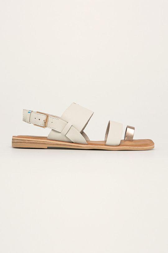 biały Toms - Sandały skórzane Freya Damski