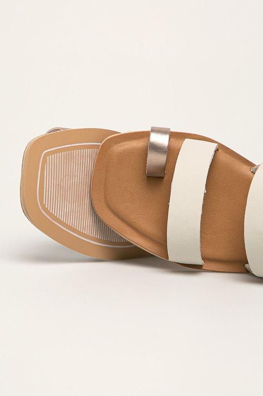 biały Toms - Sandały skórzane Freya