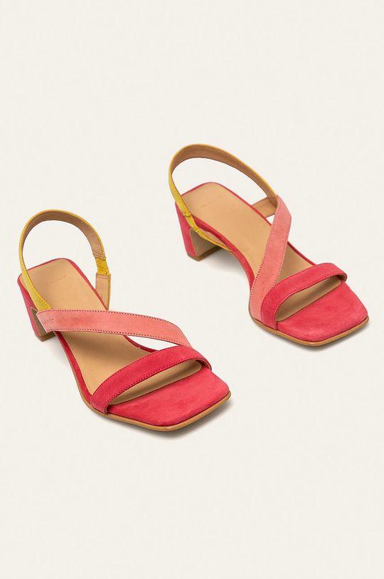 Gant - Sandały skórzane Alabasta fuksja