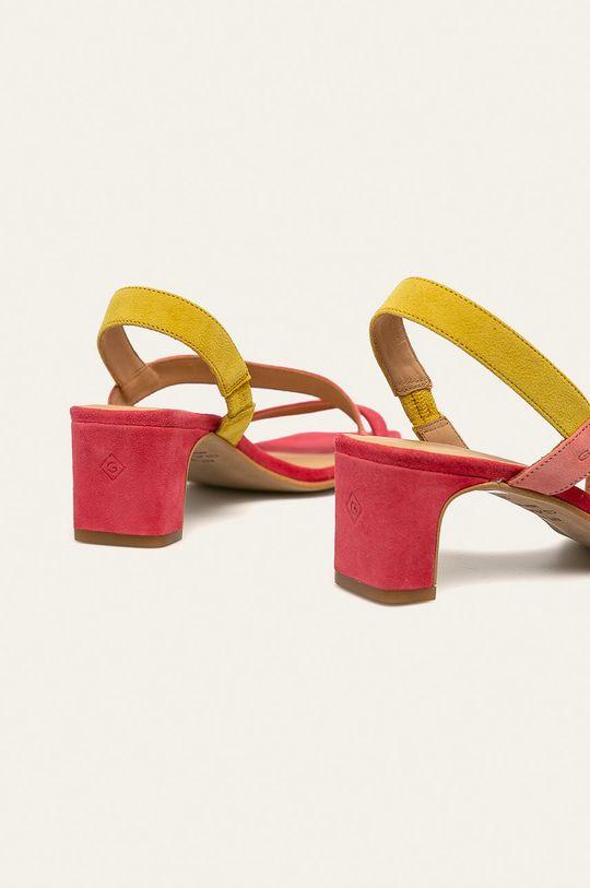 Gant - Sandały skórzane Alabasta Cholewka: Skóra zamszowa, Wnętrze: Skóra naturalna, Podeszwa: Materiał syntetyczny