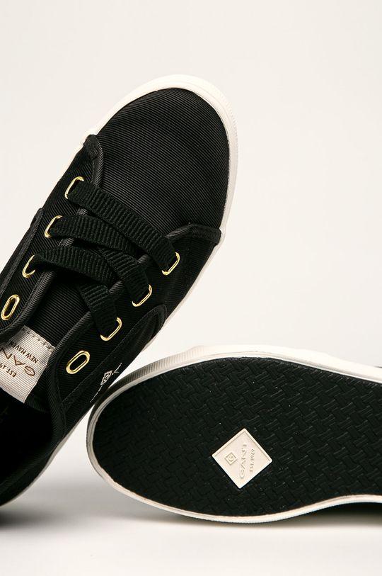 czarny Gant - Tenisówki Leisha